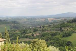 Mirante em San Gimignano